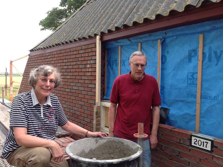 Liefke Munneke-Bos en haar Jan. Beeld