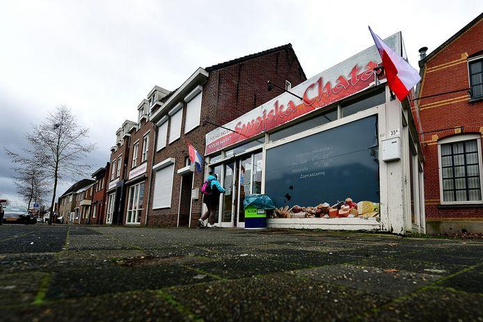 De gewraakte supermarkt aan de Gastelseweg in Roosendaal.