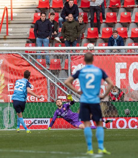 Scheurtjes in strafschoppenbastion FC Utrecht: alleen Gustafson is onfeilbaar