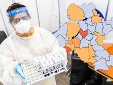 KAART | Steeds minder positieve tests in gemeenten, maar nog wel veel in Oldebroek en Putten