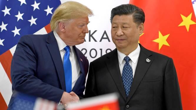 """Trump over Chinese president Xi Jinping: """"Ik mag hem graag, maar mijn gevoel is veranderd"""""""