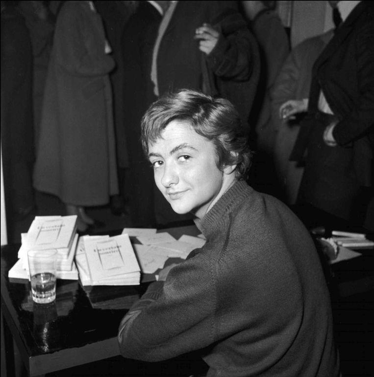 Françoise Sagan: uit haar nalatenschap werd vijftien jaar na haar dood nog een roman gevist. Beeld © ISOPRESS/UNIVERSAL PHOTO