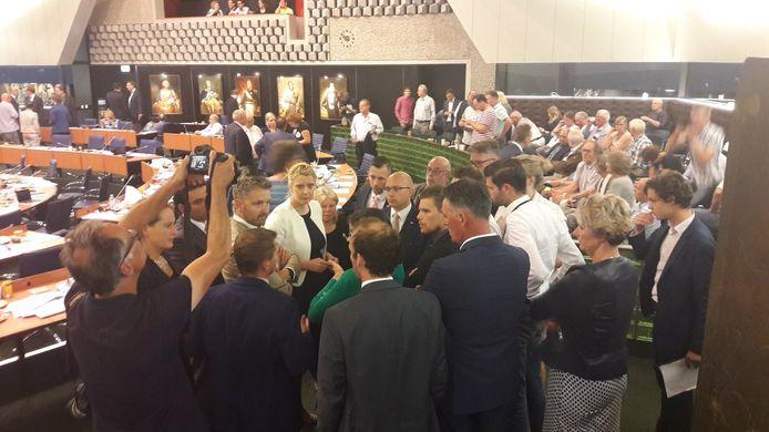 Oppositieoverleg over veehouderij in Brabant