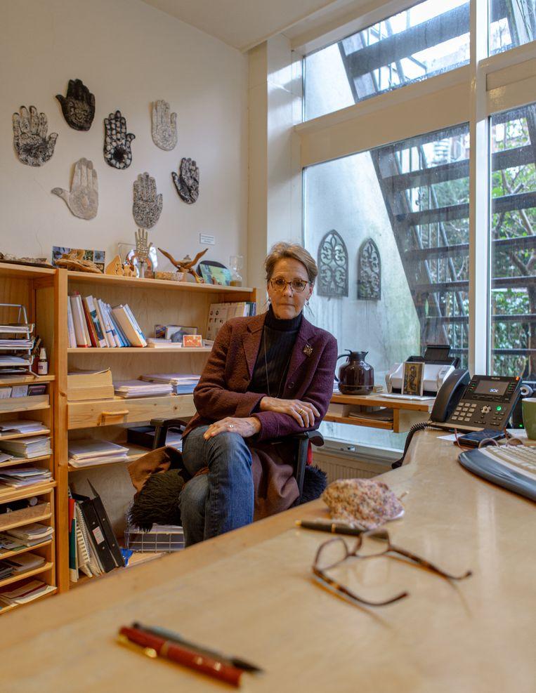 Patty Grannetia is antroposofisch huisarts in Oud-Zuid. Beeld Desiré van den Berg