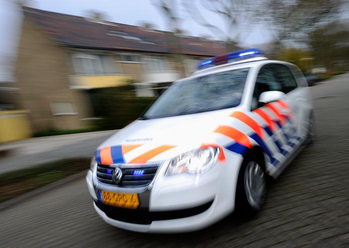 De politie was zaterdag niet bij de verkeersruzie en deed een getuigenoproep.