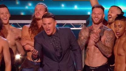 Channing Tatum zet 'Britain's Got Talent' op z'n kop