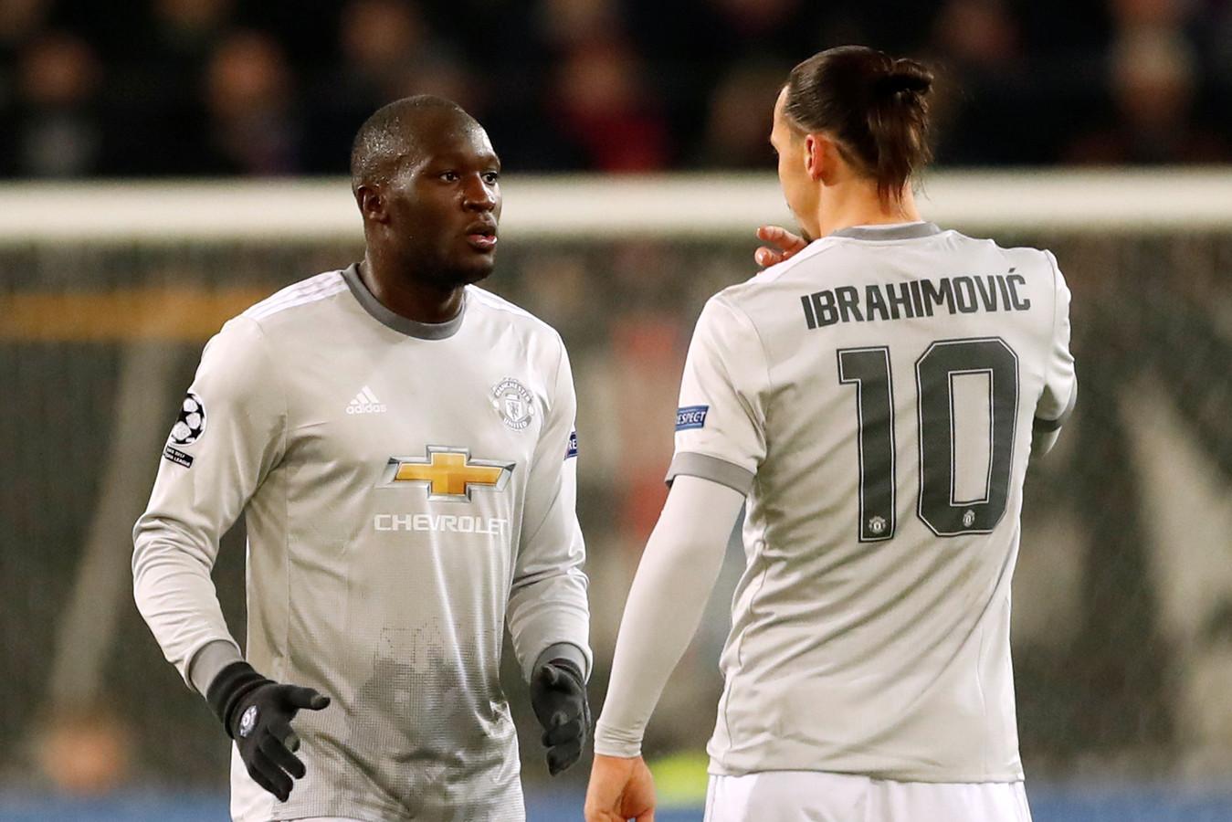 Lukaku et Ibrahimovic ont joué ensemble à Man Utd
