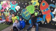 Street Art fleurt KSD-basisschool 't Minnepoortje in Assent op