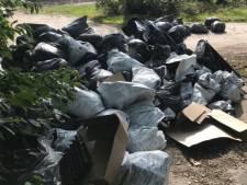 Tientallen zakken vol drugsafval gevonden in Milheeze