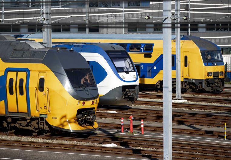 De problemen op het spoor als gevolg van personeelstekort bij ProRail kunnen nog tot oktober voortduren. Reizigersorganisatie Rover zegt daarover door de spoorbeheerder te zijn geïnformeerd. Beeld ANP