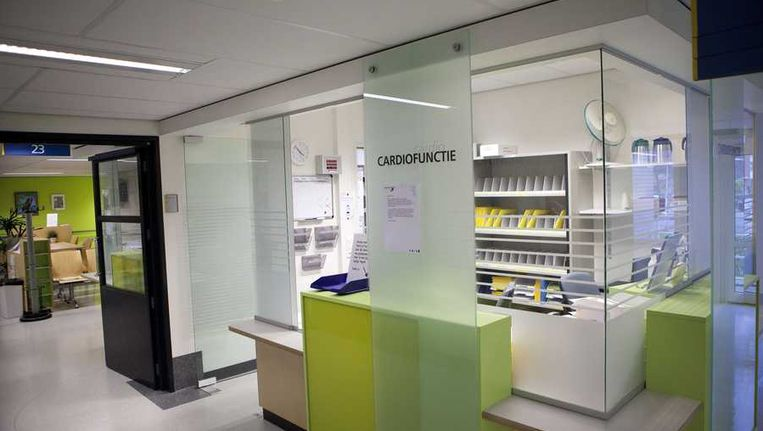 De afdeling cardiologie van het Ruwaard van Putten ziekenhuis in Spijkenisse. Beeld anp