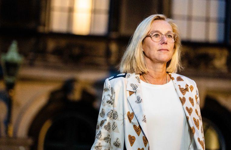 Demissionair minister Sigrid Kaag van Buitenlandse Zaken. Beeld ANP