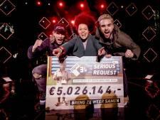 Serious Request Apeldoorn levert 5.026.144 euro op