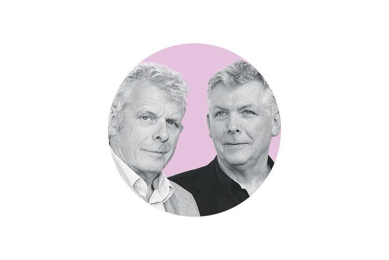 Alex (l) en Marc van Warmerdam.  Beeld ANP Kippa