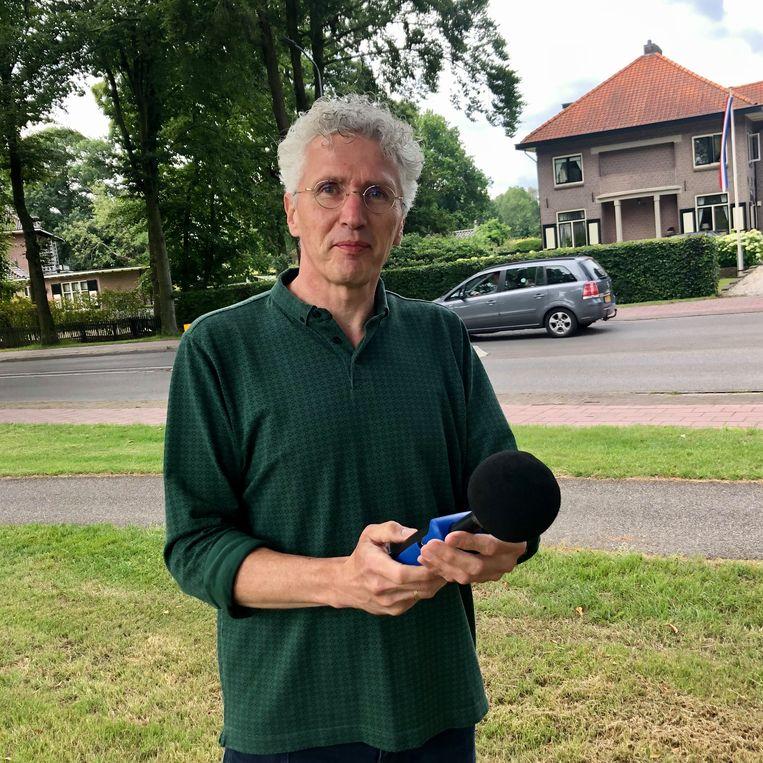 Erik Roelofsen, directeur van de Stichting Geluidshinder. Beeld