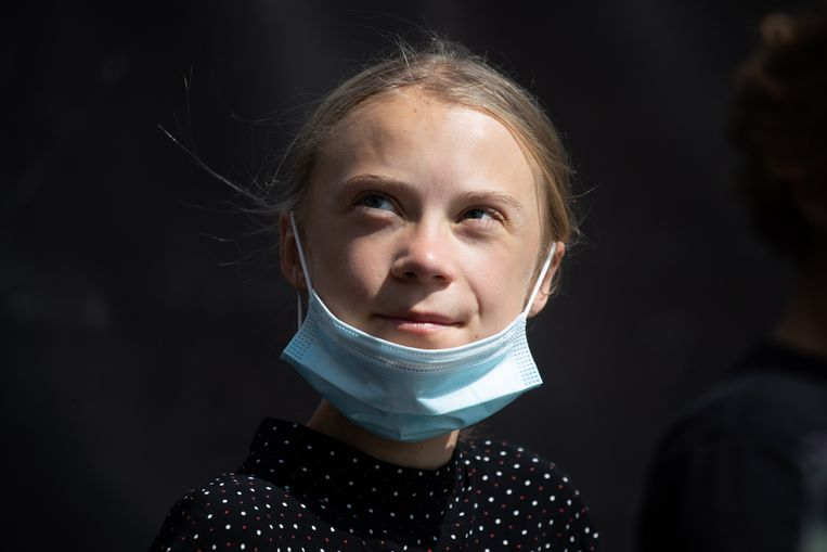 Greta Thunberg.  Beeld EPA