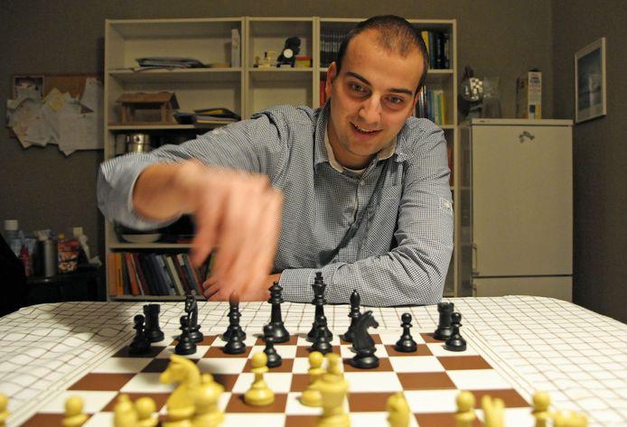 Koen Leenhouts, de schaker uit IJzendijke, was een klasse apart.
