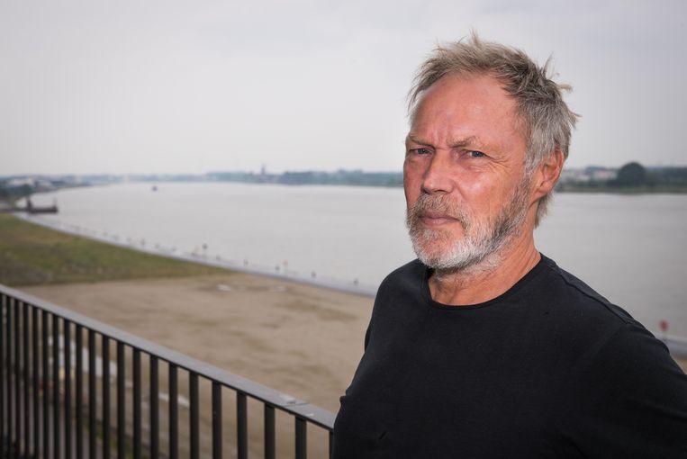 Marc Bleys (61) was één van de allereerste bewoners van de appartementen in Nieuw Zuid.