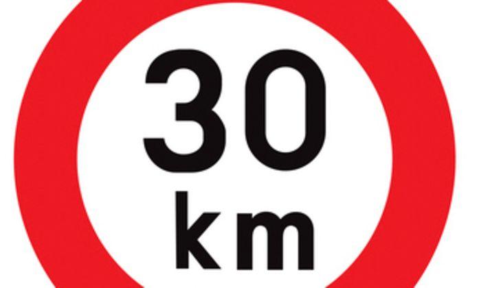 Ook in de Grijpenwegstraat  is het voortaan zone 30.