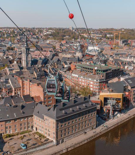 Namur vue du ciel: le téléphérique accueille ses premiers voyageurs
