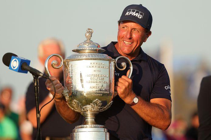 Phil Mickelson won dit jaar de Players Championships.