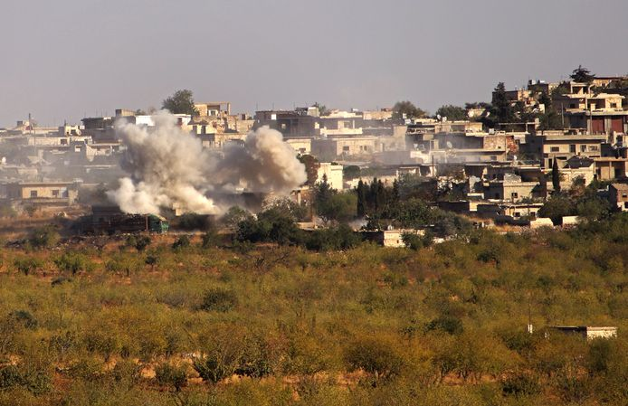 Kansafra, province d'Idleb, Syrie