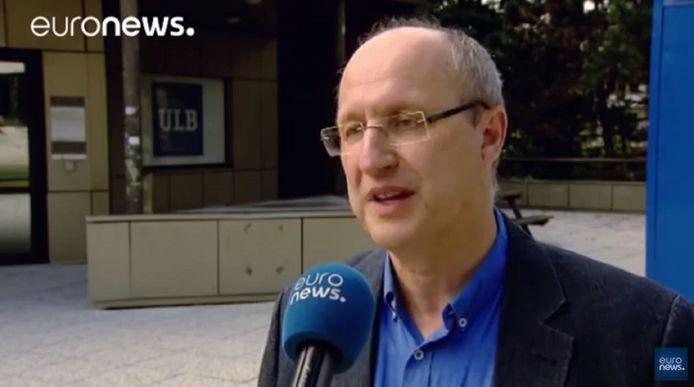 Jean-Michel De Waele, sociologue du sport et professeur à l'ULB