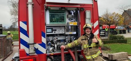 De filmpjes van de brandweer Lunteren zijn een hit op YouTube: 'Als we een damclub waren, was dat niet gelukt'