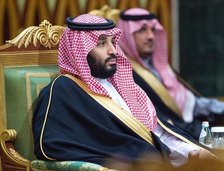 Kroonprins Mohammed bin Salman.  Beeld EPA