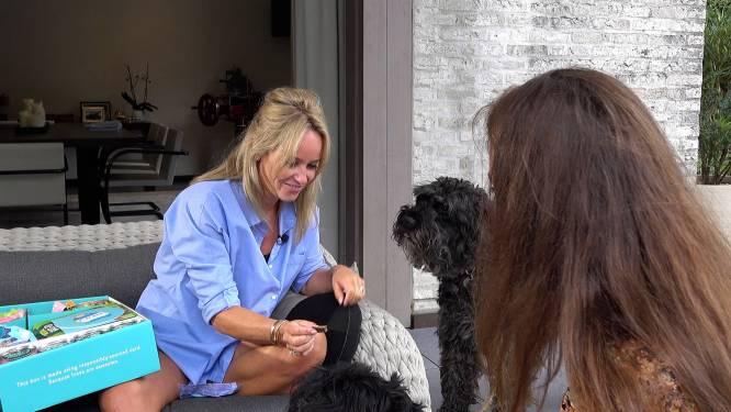 """Ellen Verhulst over haar honden Leo en Marcel: """"Ze hebben de deuren in ons huis in Frankrijk kapot gekrabd"""""""