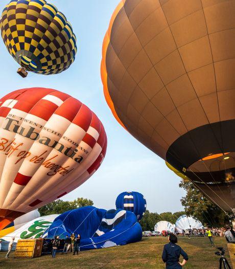 Programma Twente Ballooning voor deze vrijdag gaat door
