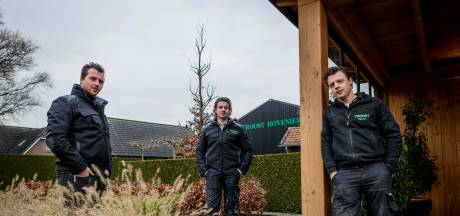 Rijssense Hovenier is een echt familiebedrijf: door opa opgericht, door de kleinzonen uitgebouwd