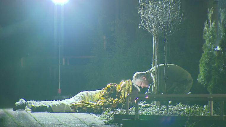 Xavier Lucassen uit Venlo lag twee uur lang op een granaat. Beeld