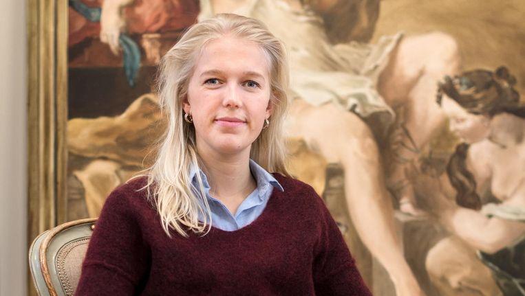 Elise Trommelen: 'Het Lieverdje ken ik door en door. Mijn ouders hadden een afgietsel in de tuin staan' Beeld Marijke Stroucken