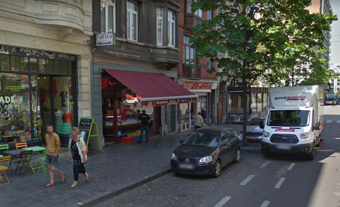 Le policier en civil a été sauvé par Mohamed, qui tient une boucherie sur l'avenue Jean Volders à Saint-Gilles.
