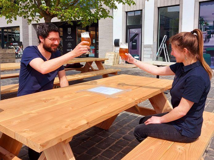 Goeste liet haar eigen bier brouwen bij brouwerij De Plukker.
