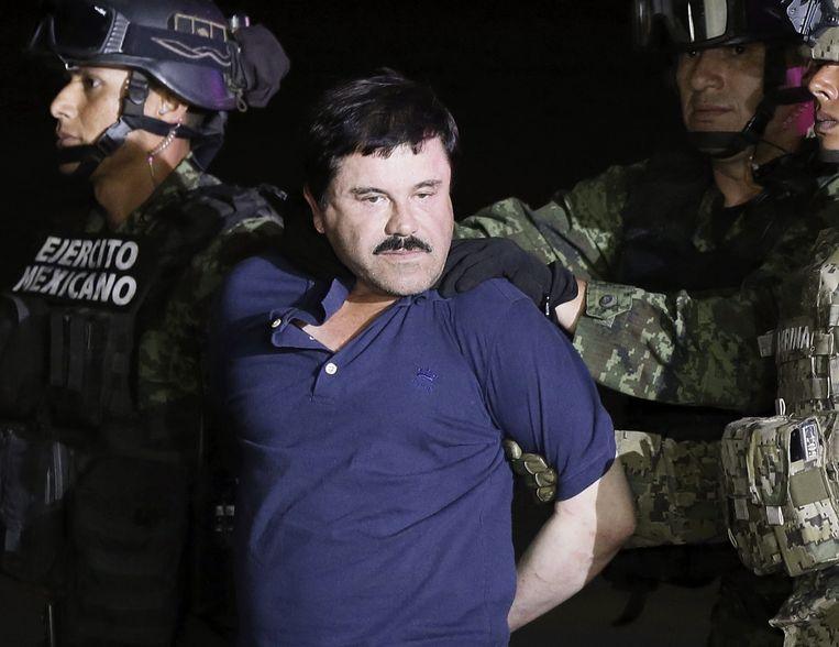Kartelbaas Joaquin 'El Chapo' Guzman in 2016.  Beeld EPA