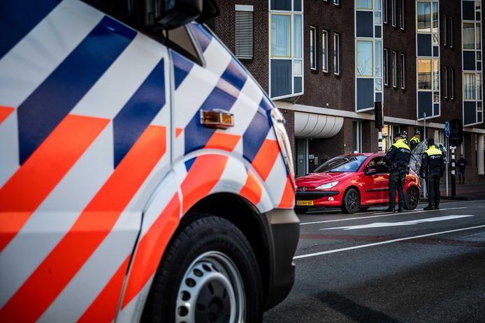 Policiers aux Pays-Bas (archives, janvier 2021)