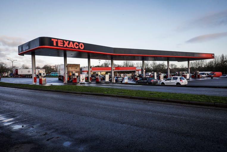 Aan het tankstation van Texaco langs de E40 in Groot-Bijgaarden kregen verschillende chauffeurs na een tankbeurt af te rekenen met autopech.
