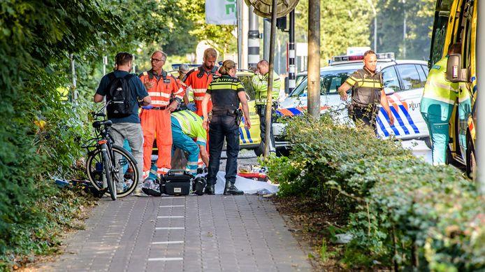 Ongeval aan de Bredaseweg.