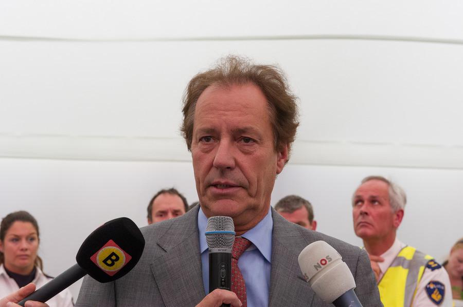 Rob van Gijzel, de burgemeester van Eindhoven.