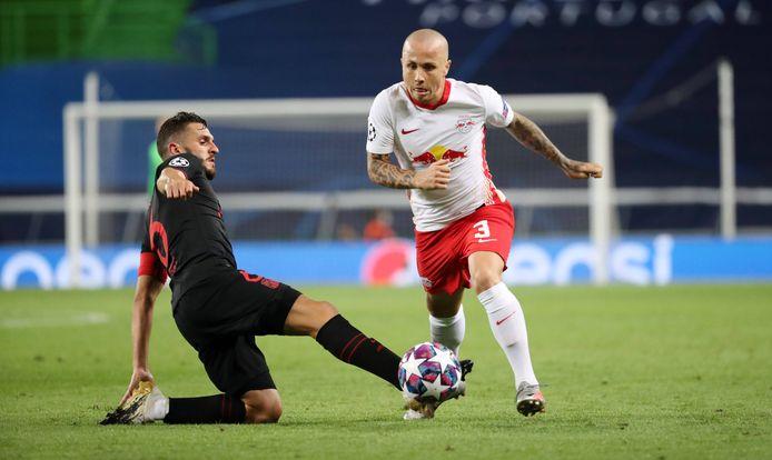 Angeliño mag met RB Leipzig proberen om Paris Saint-Germain te kloppen.