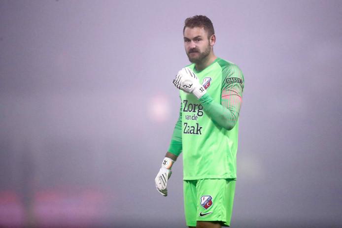 Jeroen Zoet keerde voor even terug in Eindhoven, waar hij met FC Utrecht na verlenging van FC Eindhoven won.