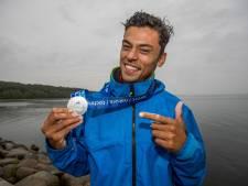 Kiran viert Europese surftitel met team, Theo knipoogt naar de keirin in Japan