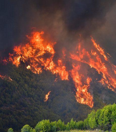 Le feu menace l'ancienne Olympie grecque, berceau des Jeux olympiques