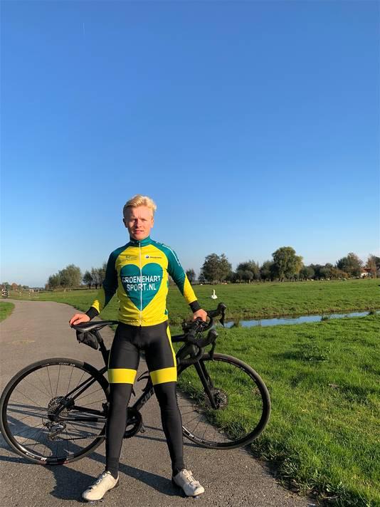 Gouwenaar Tom den Heijer schaatst zaterdag in Deventer en zondag in Heerenveen.