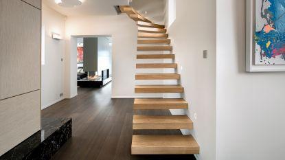 Een houten trap: dit budget moet je voorzien