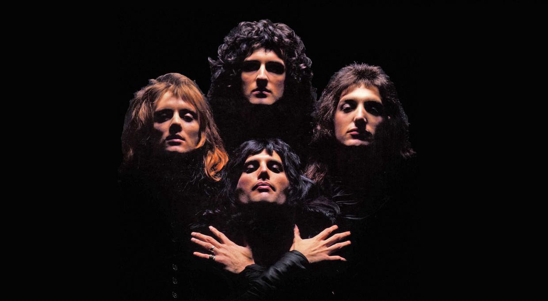 Een beeld uit de videoclip van 'Bohemian Rhapsody' van Queen. Beeld RV
