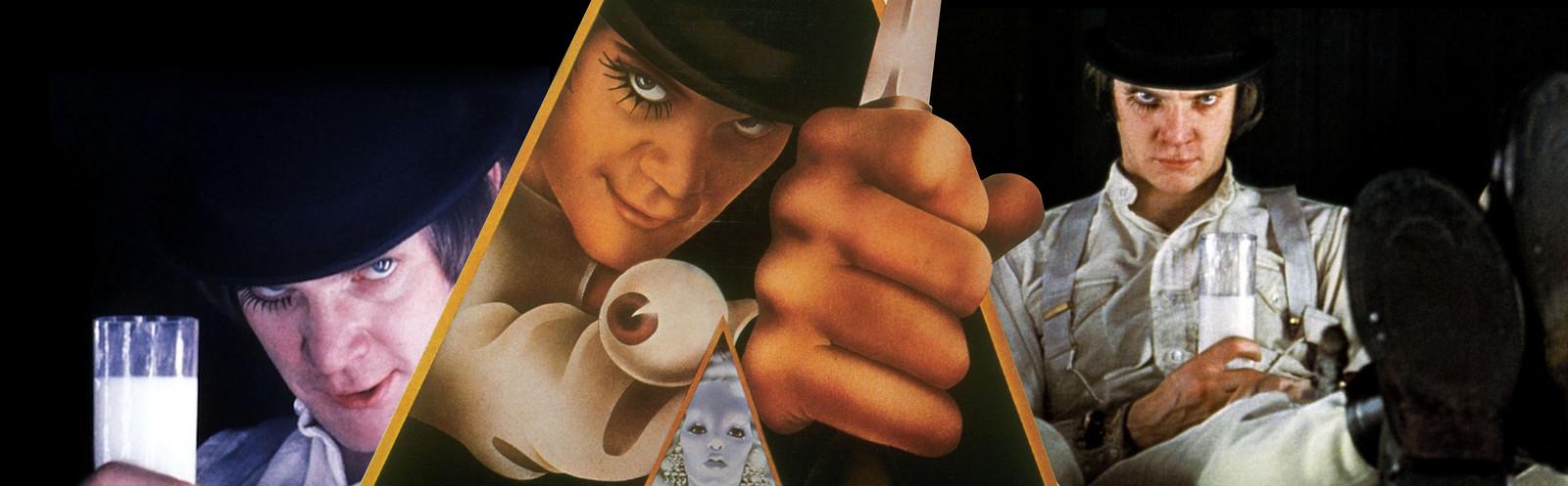 Malcolm McDowell in het 50 jaar oude A Clockwork Orange.