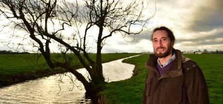 Zo gaat vegaboer Martijn (40) mensen laten genieten van de natuur, maar behalve wat gras is er (nog) niks